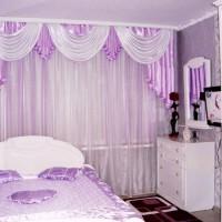 сиреневая спальня фото 43