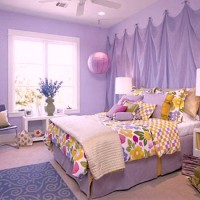 сиреневая спальня фото 44
