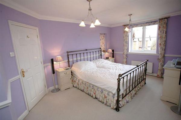 спальня в сиреневых тонах фото и идеи дизайна сиреневой спальни