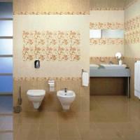 ванная в бежевых тонах фото 13