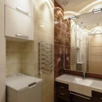 ванная в бежевых тонах фото 2
