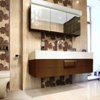 ванная в бежевых тонах фото 4