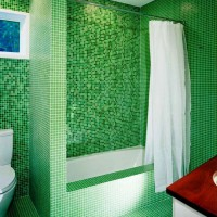 зеленая ванная комната фото 18