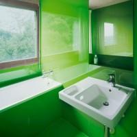 зеленая ванная комната фото 19