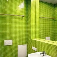 зеленая ванная комната фото 34