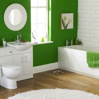 зеленая ванная комната фото 40