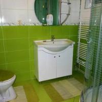 зеленая ванная комната фото 46