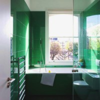зеленая ванная комната фото 52