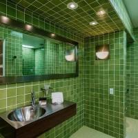 зеленая ванная комната фото 53