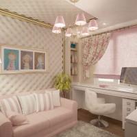 детская комната для девочки подростка фото 2
