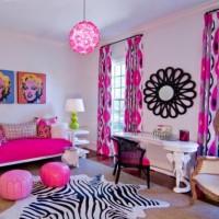 детская комната для девочки подростка фото 33