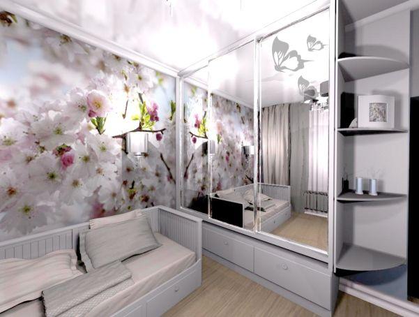 интерьер подростковой комнаты для девочек фото 6