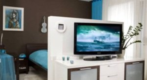 комната 18 кв м зонирование на спальню и гостиную
