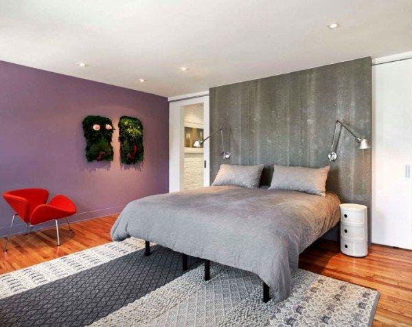 Дизайн интерьера спальни в современном стиле фото
