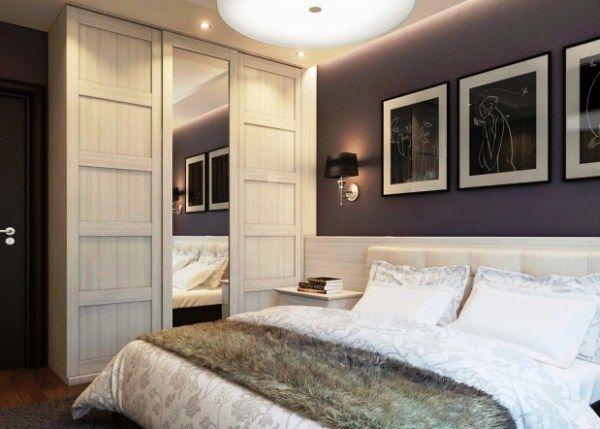 Дизайн маленькой спальни в современном стиле фото