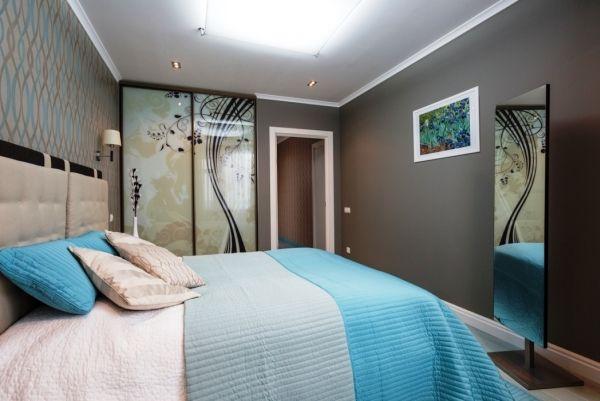 Фото спальни в современном стиле в квартире