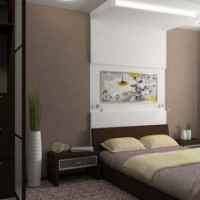 интерьер спальни в современном стиле фото 33