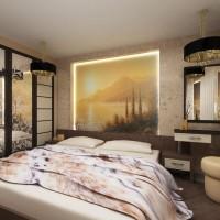 интерьер спальни в современном стиле фото 38