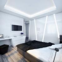 интерьер спальни в современном стиле фото 5