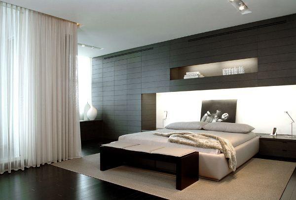 современная спальня дизайн фото 5