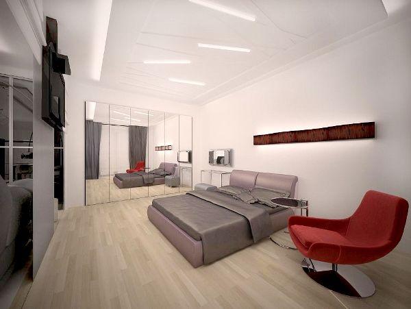 Современная спальня дизайн фото