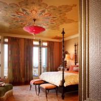 спальня в восточном стиле фото 11