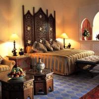 спальня в восточном стиле фото 14