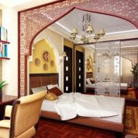 спальня в восточном стиле фото 20