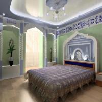 спальня в восточном стиле фото 28