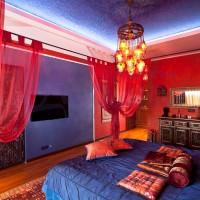спальня в восточном стиле фото 54