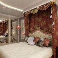 спальня в восточном стиле фото 8