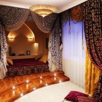 спальня в восточном стиле фото 9