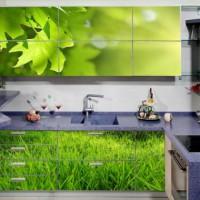 угловая кухня с барной стойкой фото 54