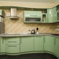 угловая кухня с барной стойкой фото 15