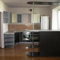 угловая кухня с барной стойкой фото 17