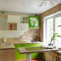 угловая кухня с барной стойкой фото 20