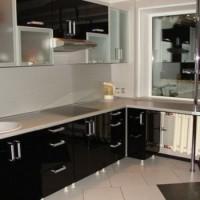 угловая кухня с барной стойкой фото 31