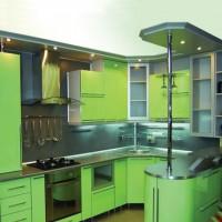 угловая кухня с барной стойкой фото 35