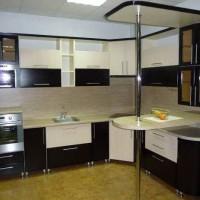угловая кухня с барной стойкой фото 42