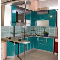 угловая кухня с барной стойкой фото 45