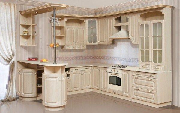 угловая кухня с барной стойкой фото 5