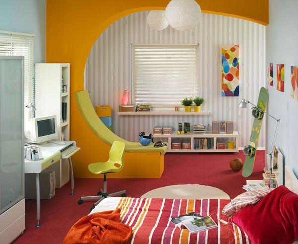 зонирование детской комнаты фото 10