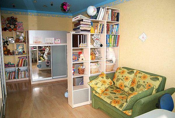 зонирование детской комнаты фото 14