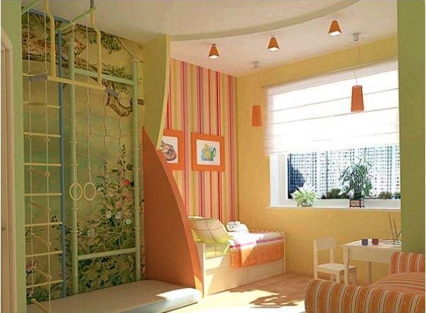 зонирование детской комнаты фото 16