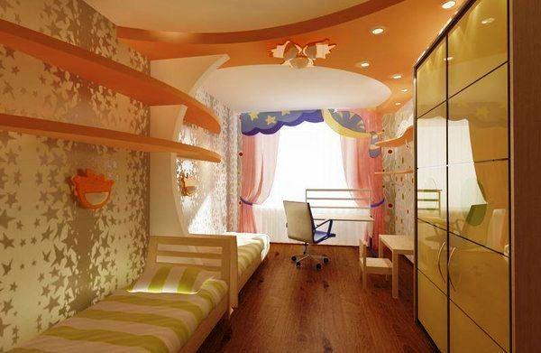 зонирование детской комнаты фото 2