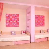 зонирование детской комнаты фото 22