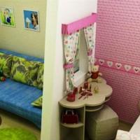зонирование детской комнаты фото 29