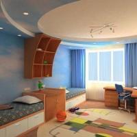 зонирование детской комнаты фото 35