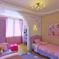 зонирование детской комнаты фото 37