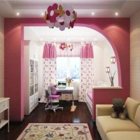 зонирование детской комнаты фото 43